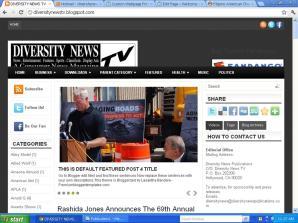 Diversity News TV blog