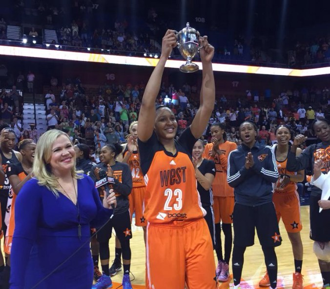 In the second half of the WNBA season, one rose will say more than the dozen.