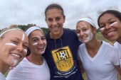 Carli Lloyd's extraordinary performance inspires a future generation