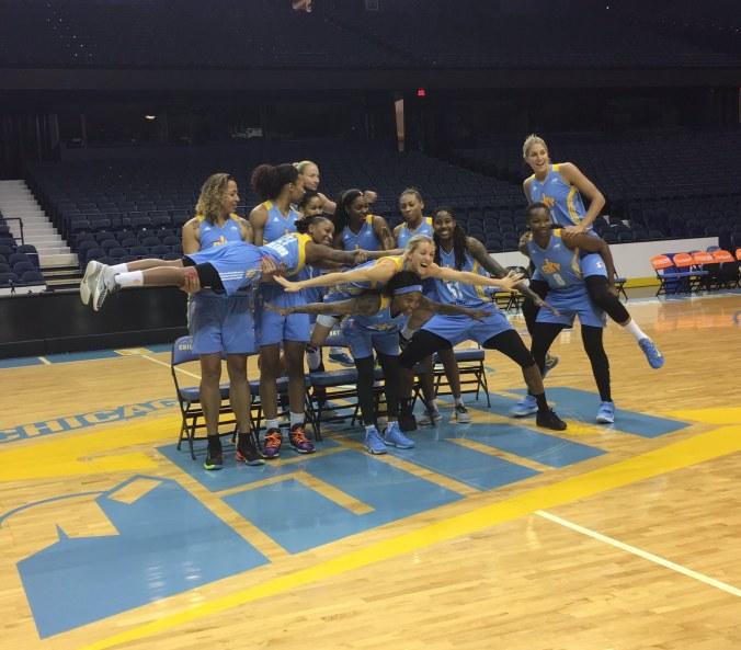 Chicago Sky advances to a best-of-five WNBA semifinal over Atlanta Dream