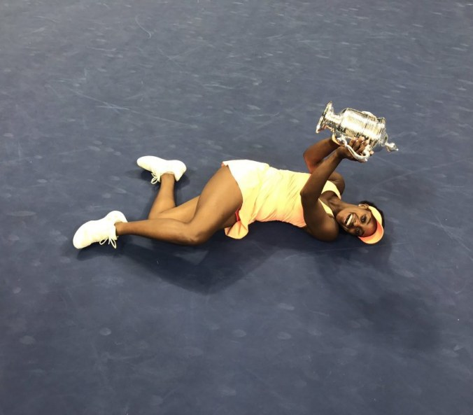 Sloane Stephens started from the bottom now she is here