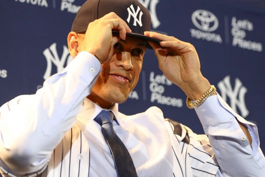Gone fishing, Marlins first MVP Stanton is traded, Jeter speaks to fans, it's all a disaster