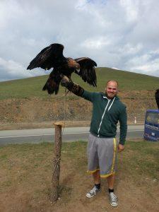 A vulture!