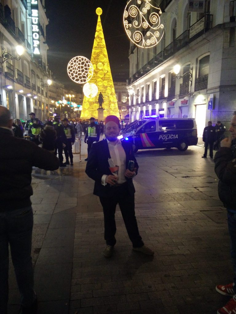 New years eve in Madrid