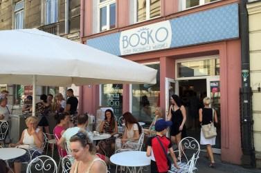 Bosko - ice cream made on location.