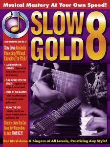 Cover to SlowGold 8 Printed Manual