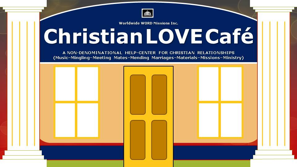 Christian Love Café Logo building
