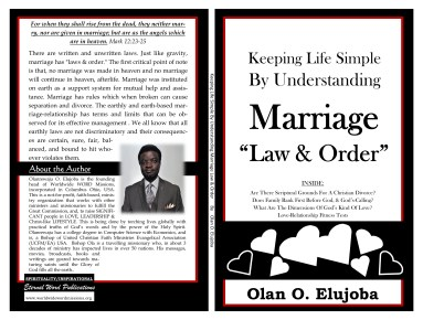 keeping life simple by understanding marriage law and order cover