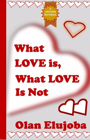 what love is what love is not 8.5 x 5.5