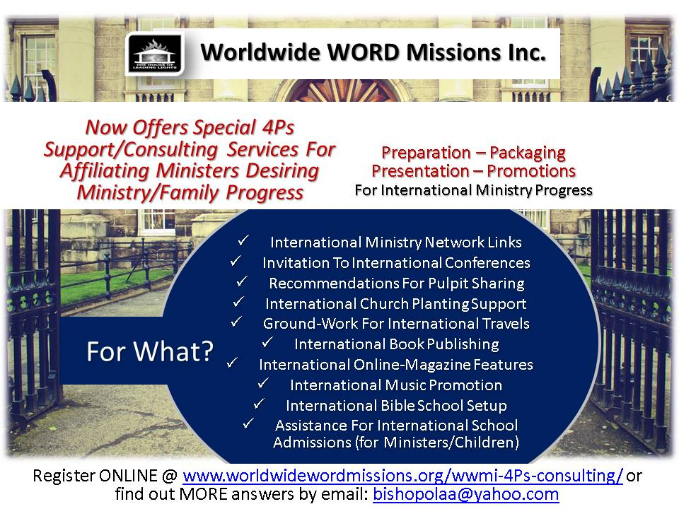 Worldwide WORD Missions Affiliates