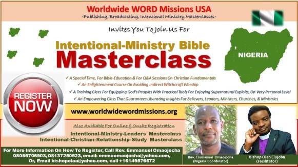 Intentional Ministry MasterClass Nigeria