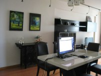 Our Office/Dining Area