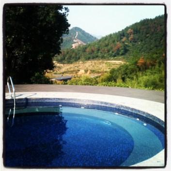 hill top pool