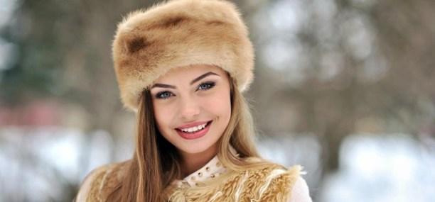 《ベラルーシの美人女性》