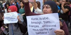 femmes kurdes contre la barbarie