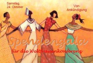 Weltfrauenkonferenz Nepal Spendengala