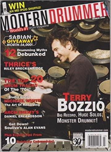 Modern drummer March 2006