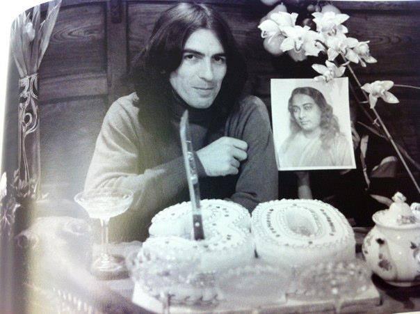 George Harrison and Paramahansa