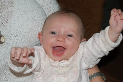 kate levy as a baby