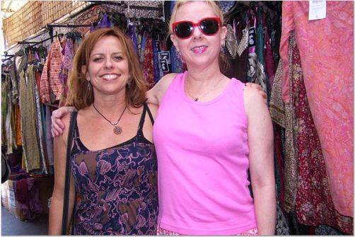 sue and gail at venice beach