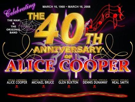 Alice Cooper 40 Years of Rock