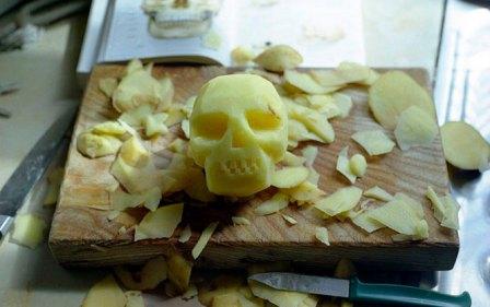 Potato Skull