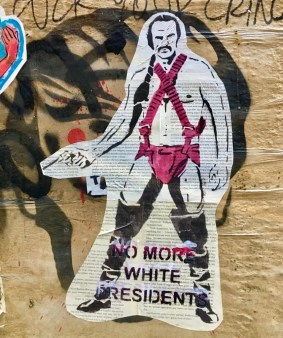 no more white presidents photo by gail worley