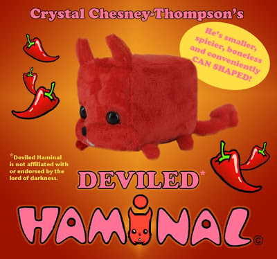 deviled haminal plush figure