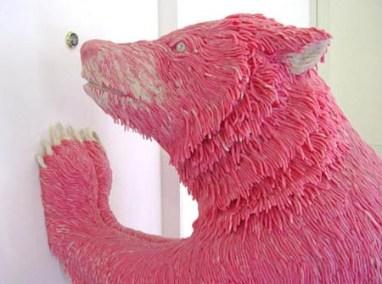 Chewing Gum Sculpture