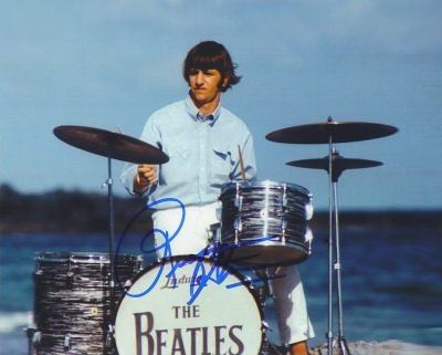 Ringo on drums
