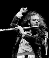 Ian Anderson with Flute