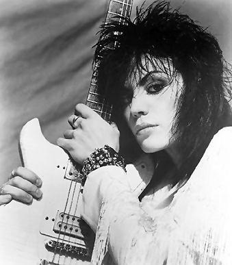 Joan Jett B&W