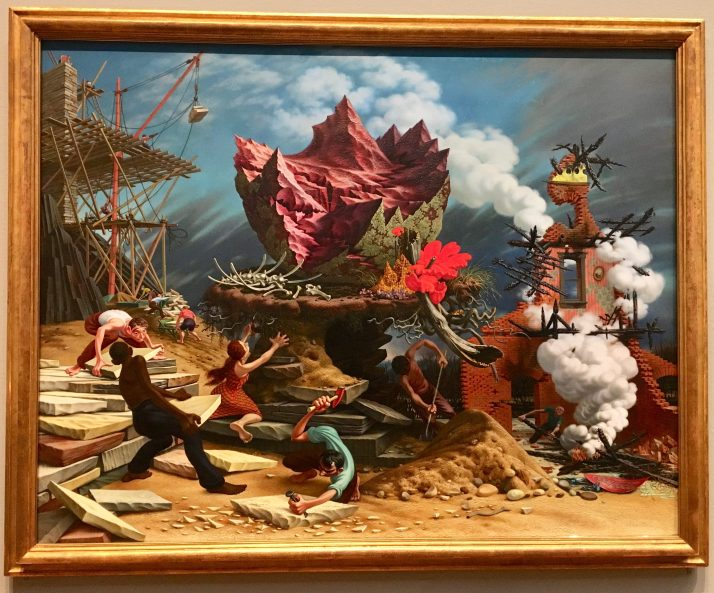 The Rock Peter Blume