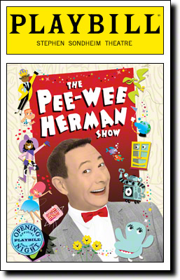 Pee-Wee-Herman-Show-Playbill-10-26
