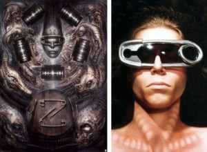 HR Giger Artwork Inspired Glasses