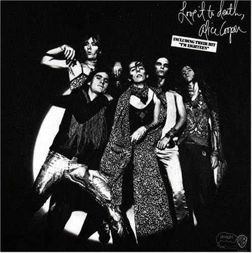 Cover of Alice Coopers Love it to Death Album