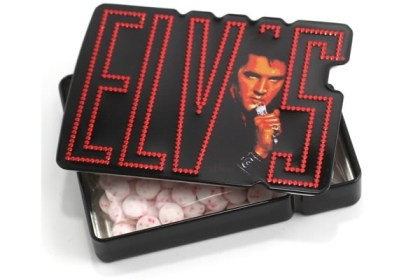 Elvis Presley Burnin' Love Cinnamon Mints Candy in Collectible Tin
