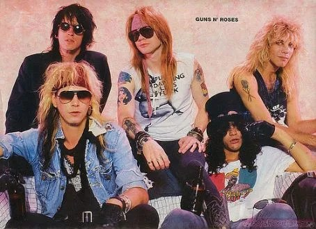 Original Guns N Roses Line Up