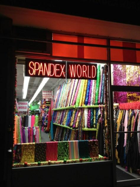 Spandex World Fabric Store