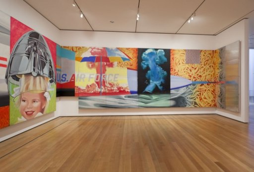 Moma James Rosenquist f111 2012 Installation