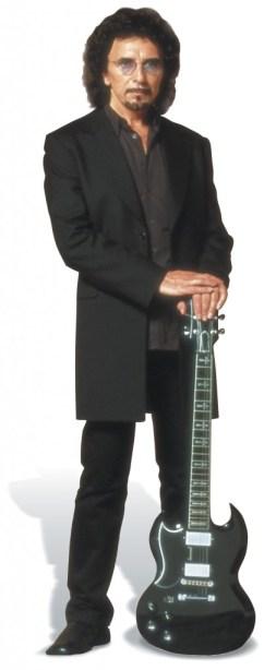 Tony Iommi Portrait With Guitar