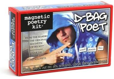 D-Bag Poet Magnetic Poetry Kit