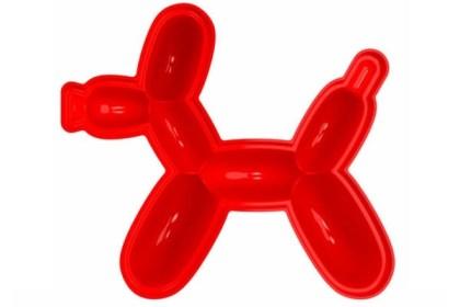 Red Balloon Dog Jello Mold