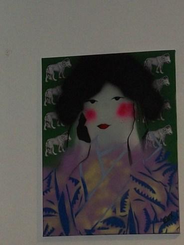 DG Geisha Stencil