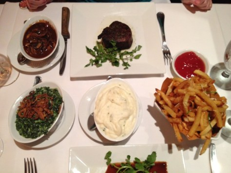 Gails Steak and Feast at Christos Steak House
