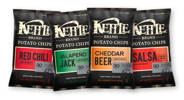 Kettle Chips 30 Years Limited Batches