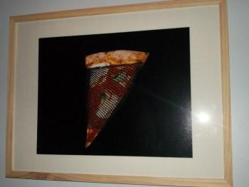 Pizza in Fishnet