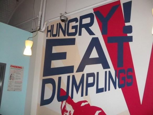 Hungry Eat Dumplings