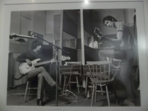 John Entwistle and Pete Townshend By Barrie Wentzell