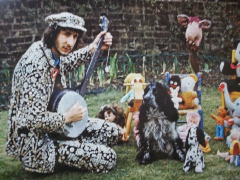 Pete Townshend with Toys By Barrie Wentzell